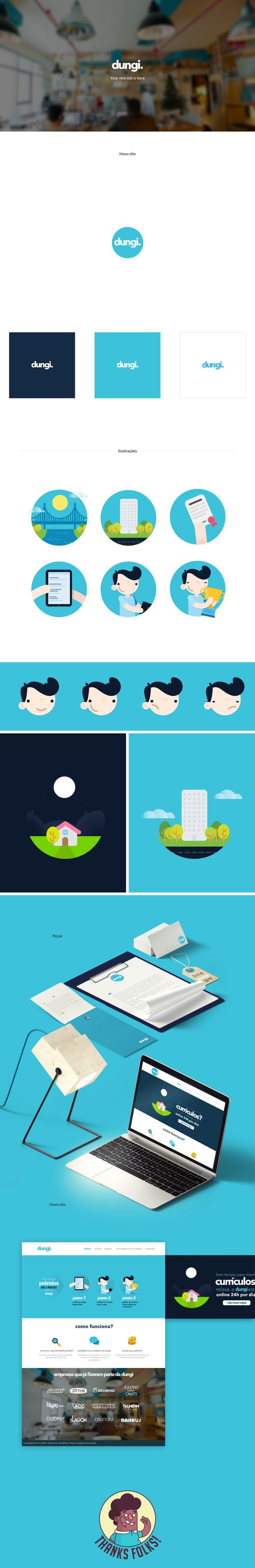Rebranding & Identidade Visual - Dungi. on Behance