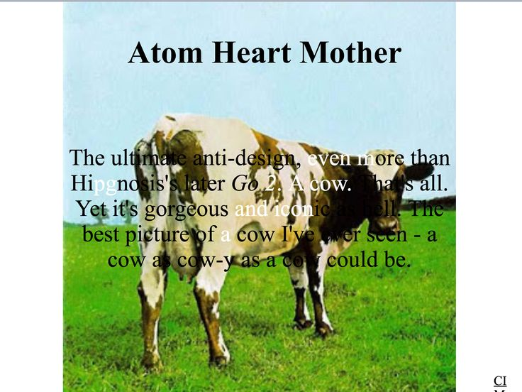 Pink Floyd - Atom Heart Mother  Created by CIM