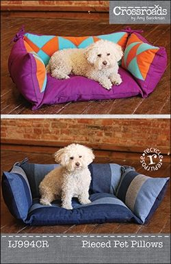 Looks like a fun #sewing pattern from @indygojunction - especially love the recycling aspect! #DIY #pets