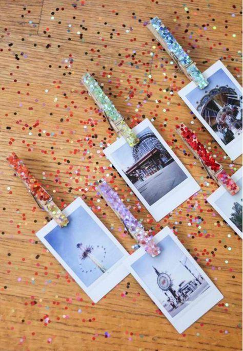 Magnetic Clothespin | 17 DIY Locker Decorations, see more at: http://diyready.com/17-diy-locker-decorations/