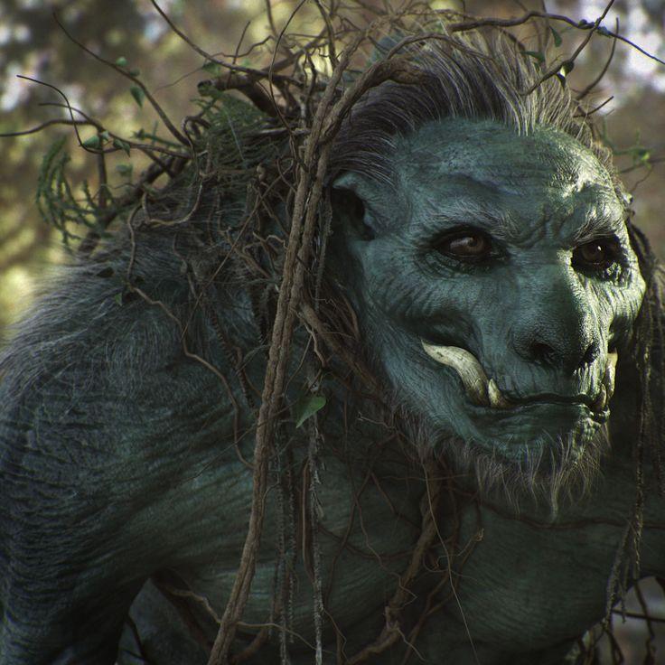 Swamp creature, Alessandro Baldasseroni on ArtStation at https://www.artstation.com/artwork/609992