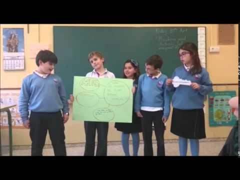 Rutina de Pensamiento Colegio María Auxiliadora Jerez de la Frontera - YouTube