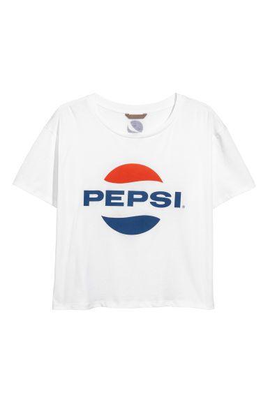H&M+ PEPSI T-paita, 3xl tai 4xl - 14,99 €