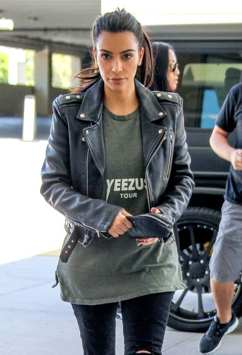 Kim shops at Westfield Topanga in Canoga Park, California.