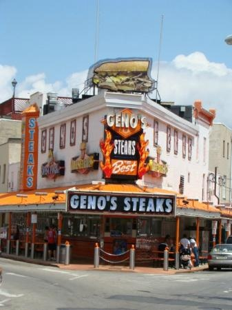 Geno's Steaks, Philly, USA