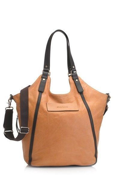 Storksak 'Ellena' Leather Diaper Bag at Nordstrom.com.