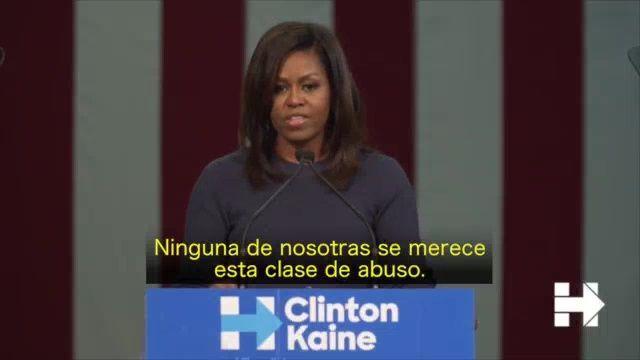 Habló Trump, habló Clinton, hablaron las víctimas…Pero faltaba por hablar Michelle Obama. Era una de las citas más esperadas, un mitin en Manchester, en New Hampshire, donde la todavía primera dama estadounidense tenía pensado hablar en favor de la candidata demócrata. ...