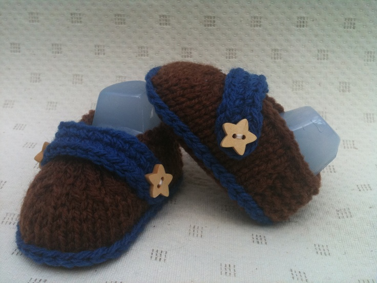 Baby Boy Booties - Loafer.