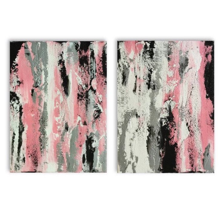 A personal favourite from my Etsy shop https://www.etsy.com/au/listing/506868896/pink-fire-two-12x16-silver-and-pink-and