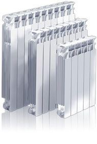 Radiadores de aliación de aluminio inyectado a presión CLAN X 350 / 500 / 600