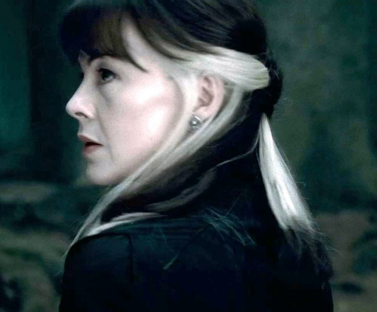 i really did love narcissa u0026 39 s hair in the movies  so much more interesting than just plain blonde
