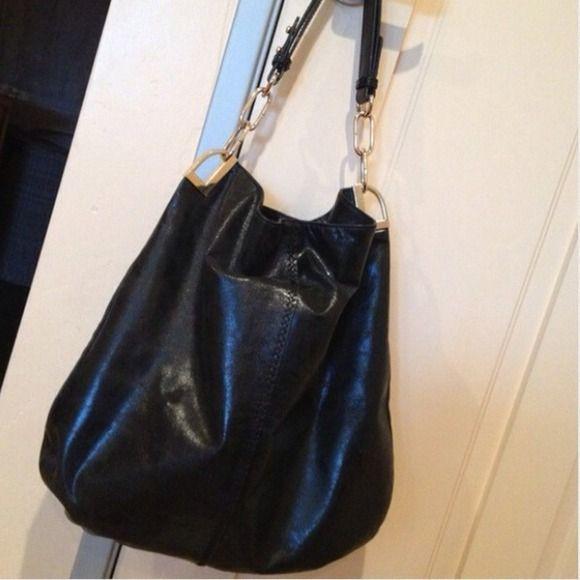 Badgley Mischka Handbags Black Leather Bag Authentic