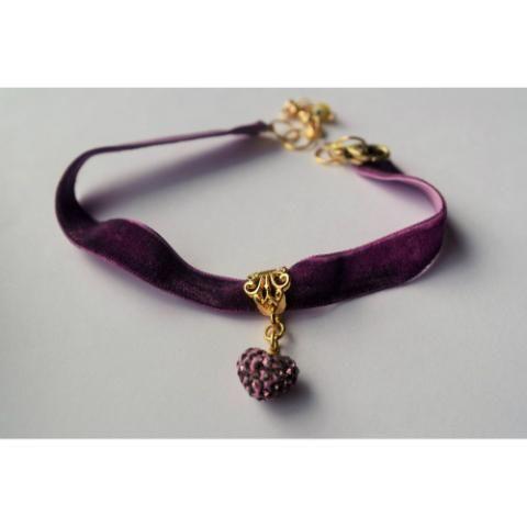 Choker Púrpura