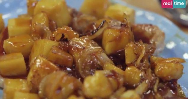 nodini di maiale ananas di benedetta parodi