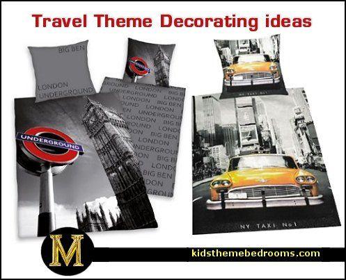Bedroom Decorating Ideas New York Theme 21 best travel theme living room images on pinterest | travel
