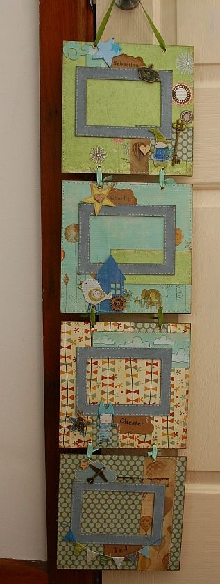 Scrapbook Layouts - Picture Frame