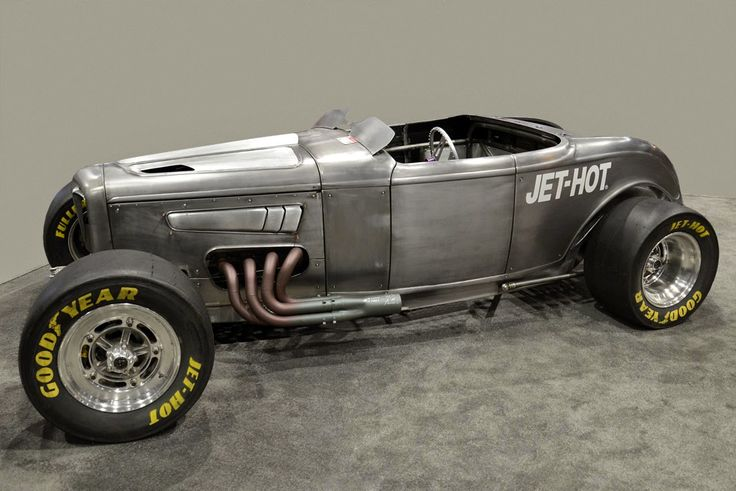 """Double Down"" AWD roadster - built by Fuller Hot Rods for Jet-Hot coatings..."