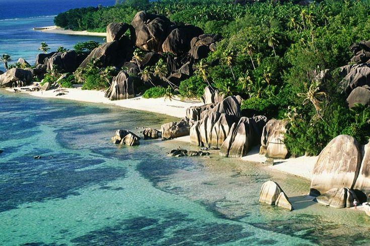 Лучшие фотографии со всего света - Ансе Сурс д'Аржан - самый красивый пляж в мире