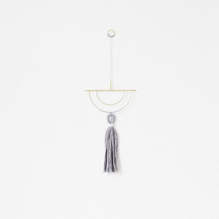 Alsin Wallhanger, V3 | Design  Brass, Twine, Wallhanging, Wall hanging, Nørkl
