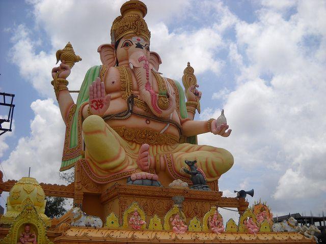Ganesh Temple - Bangalore | Flickr - Photo Sharing!