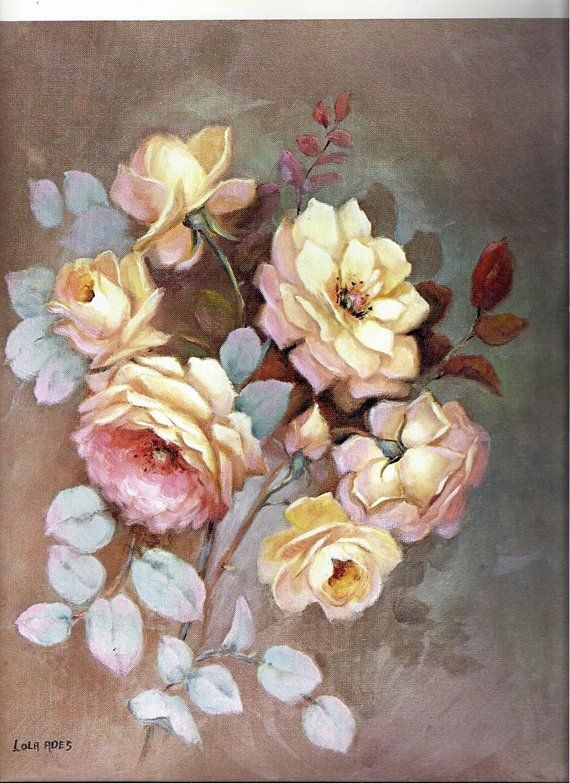 YELLOW ROSE FLOWER PAINTING STYLE MOUNTED CANVAS PRINT WALL ART PICTURE PHOTO