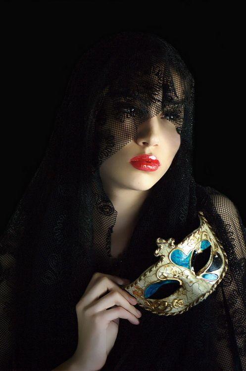Надписью долго, гифки девушки в маске черной