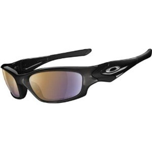 Oakley Straight Jacket Angling Collection Sunglasses – Polarized Polsihed  Black/Shallow Blue, One Size