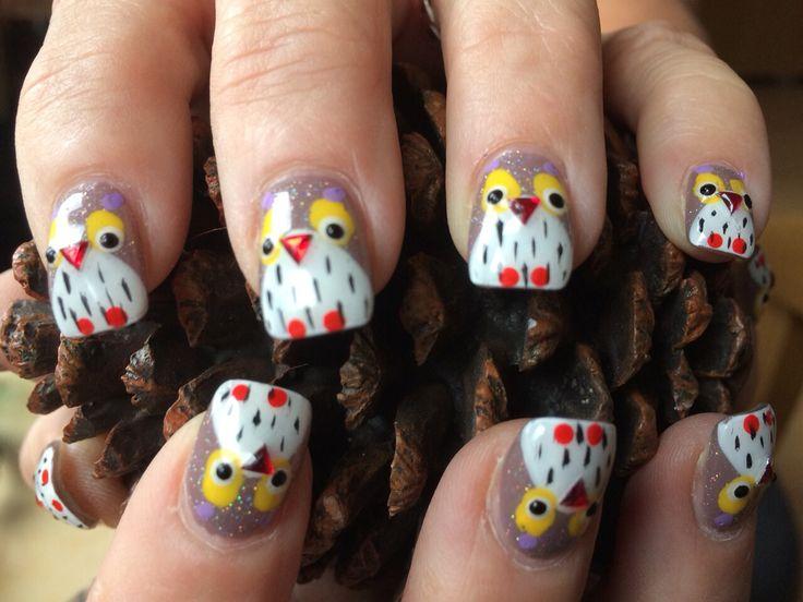Mijn nieuwe herfst nagels....oehoeeeee, ben er zo blij mee.