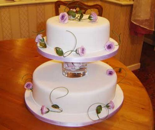2 tier wedding cakes recipes