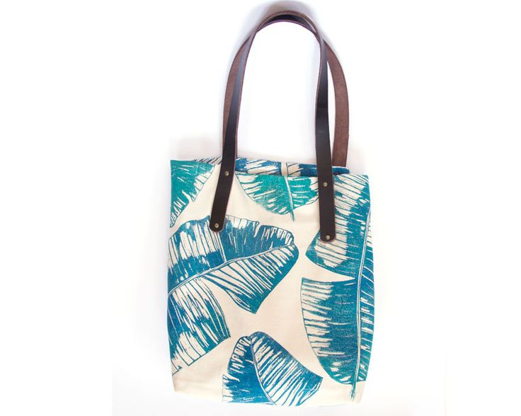 The Workshop Bag: Make your own printed fabric with Lichen & Leaf using block printing.