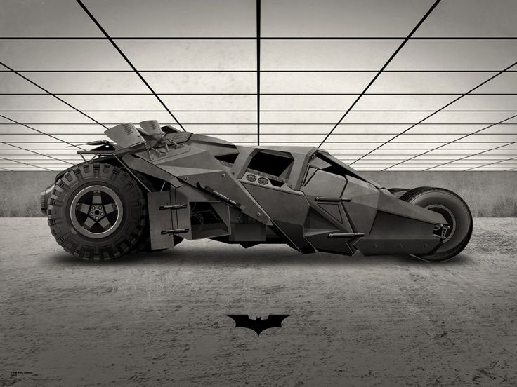 Batman Tumbler - The Dark Knight