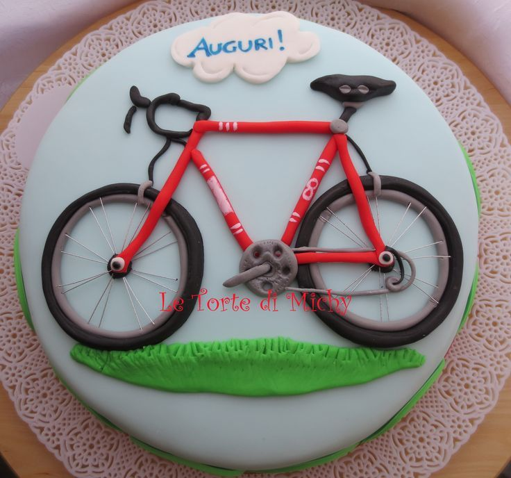 Road Bike Cake Decoration : 25+ best ideas about Mountain Bike Cake on Pinterest ...
