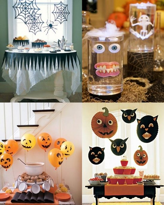 kids party decorations ideas for halloween 2012 house decorating ideas - Kids Halloween Party Decorations