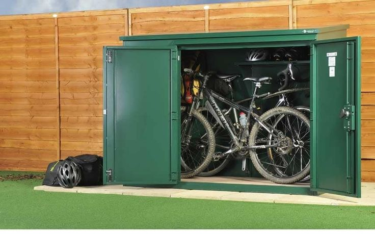 If you've been inspired by the Tour de France and have bought the latest bike,   you're going to need somewhere better than a shed to store it.