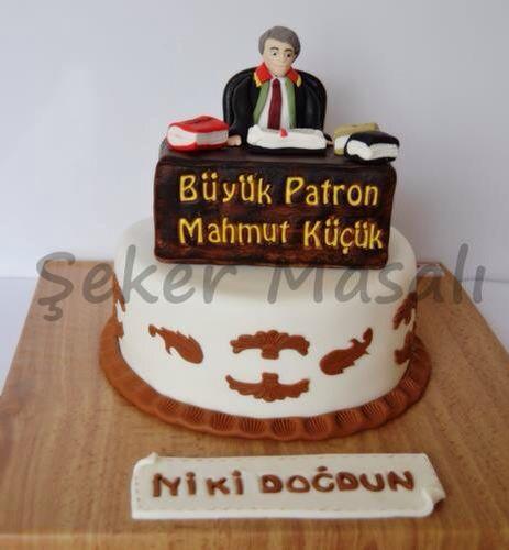Kişiye özel tasarım pasta, avukat pastası, big lawyer cakes ,lawyer cakes