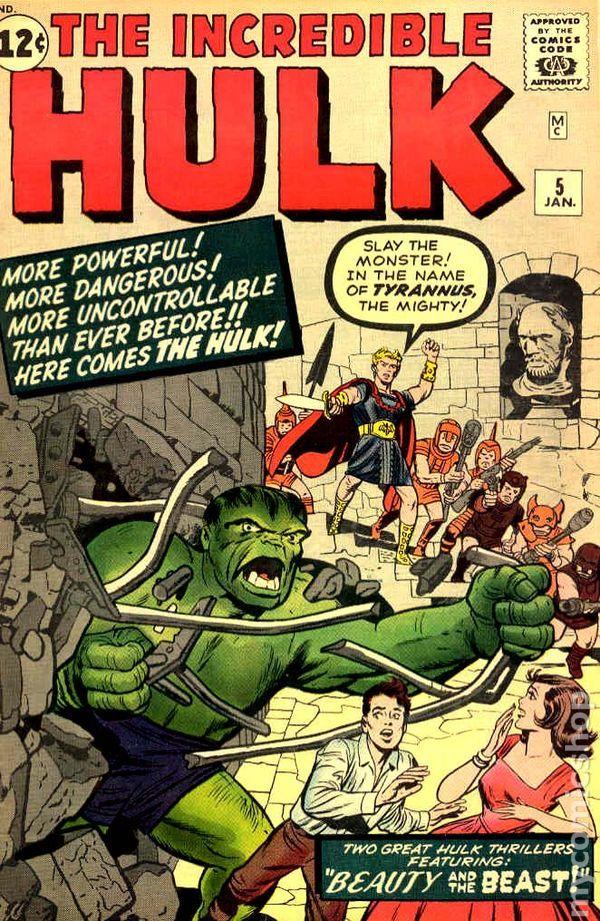 Incredible Hulk (1962-1999 1st Series) 5