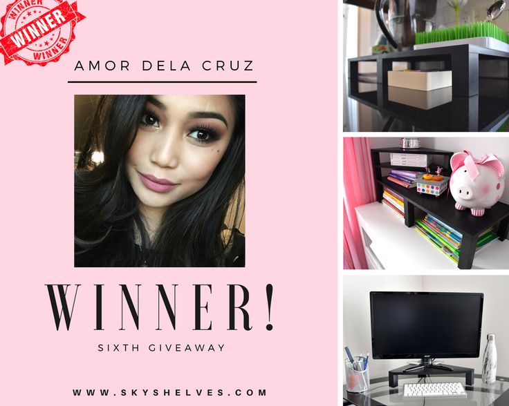 Congratulations to our Weekly Giveaway Winner Amor Dela Cruz! We'll be selecting a winner each week until our launch day on www.indiegogo.com for a chance to win a FREE Sky Shelves! To enter simply:  1. Sign up on our website www.skyshelves.com 2. Tag a friend 3. Share one of our most recent posts!   Good luck :)  Sky Shelves are the shelves that can be customizable, adaptable and magnetic! No screws or tools needed! Perfect for any room in your home; office, kids room, bathroom, living…