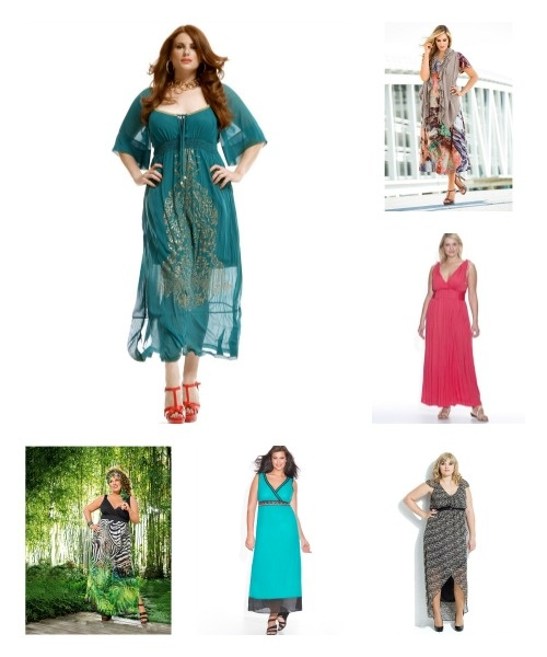 robe longue grande taille été 2013 Robe longue grande taille été 2013  4  sites pour