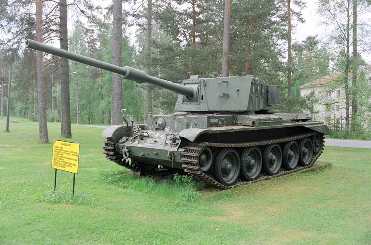 Charioteer tank destroyer. While the British Army was replacing its tank force with the impressive Centurion, it was recognised that the surplus tanks from WW2 used by the army reserves were no match for the new Soviet tanks. The decision was taken to upgrade some Cromwells with the 20 ponder gun.