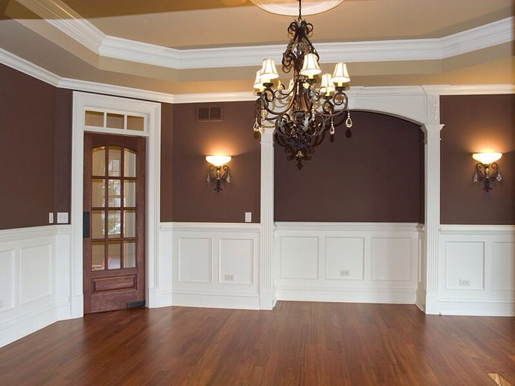 Superb Two Tone Interior Wall Painting Ideas Part - 7: Interior House Painter Oswego IL Yorkville Montgomery Naperville Painting  Contractor By Capital Painting