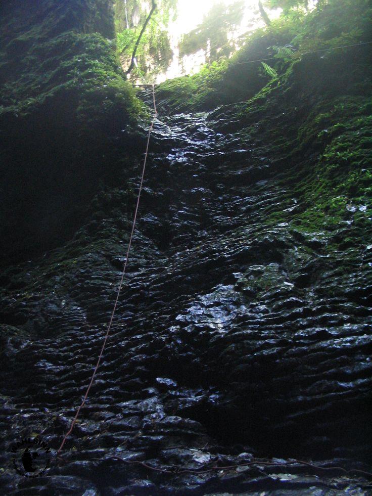 Kiwi Cave Adventures - Free Climbing gehört dazu