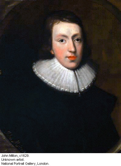 John Milton by an unknown artist hangs in the National Portrait Gallery in London.