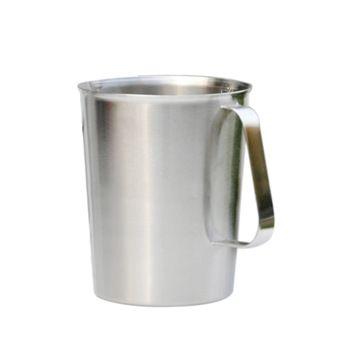 500 ml/700 ml/1000 ml Novo Aço Inoxidável Copo De Medição De Líquidos De Vidro Graduado Copos E2shopping
