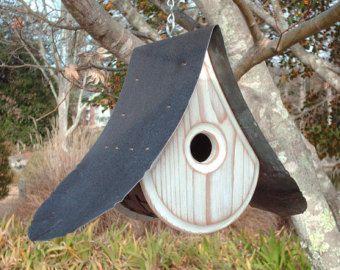 MODERN BIRDHOUSE | Wooden Bird houses | Unique Bird house