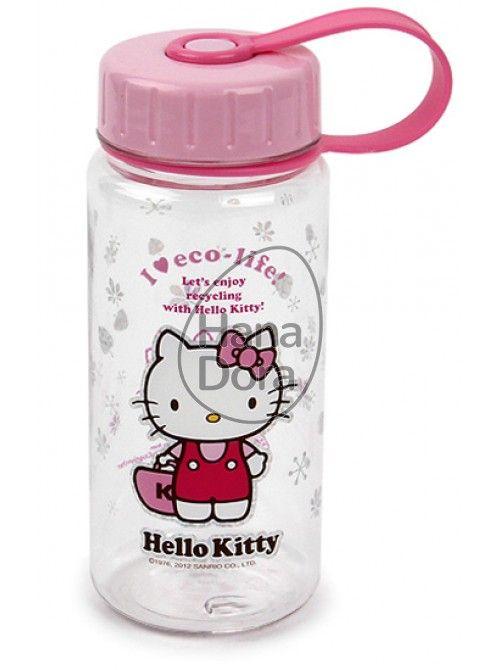 LOCK&LOCK HELLO KITTY BOTTLE ECO 400ML - KITTY BAG http://www.hanadora.com/feeding/lock-lock-hello-kitty-bottle-eco-400ml-kitty-bag.html