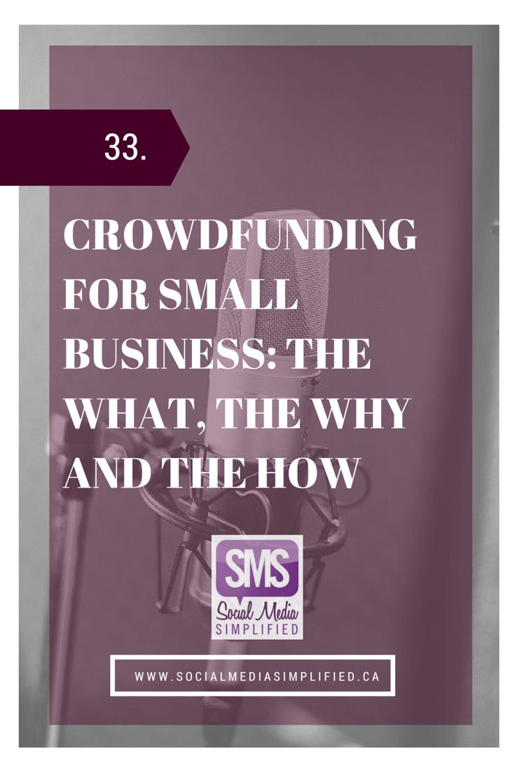 Eden Spodek - Crowdfunding for small business: The What, The Why, and the How | Social Media Simplified | Lara Wellman Digital Marketing