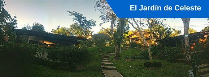 El Jardin de Celeste, Concepcion de Ataco, El Salvador. Hotel, Vivero, Cafe y Restaurante. Fotos, recomendaciones, datos de contacto y actividades