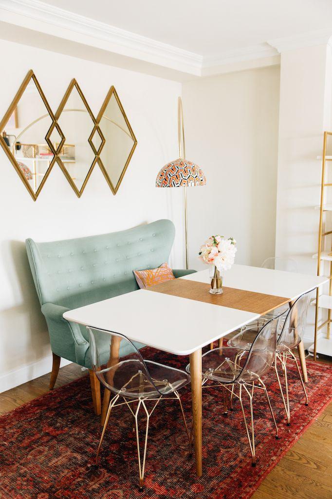 Amber Fillerup Clark NYC Living RoomBECKI OWENS