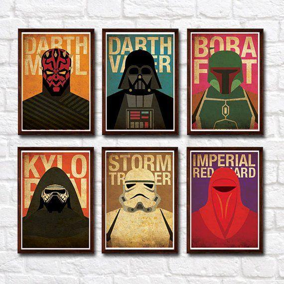 Star Wars STORMTROOPER Art Print Glossy 8x10 Size Star Wars BATHROOM Decor