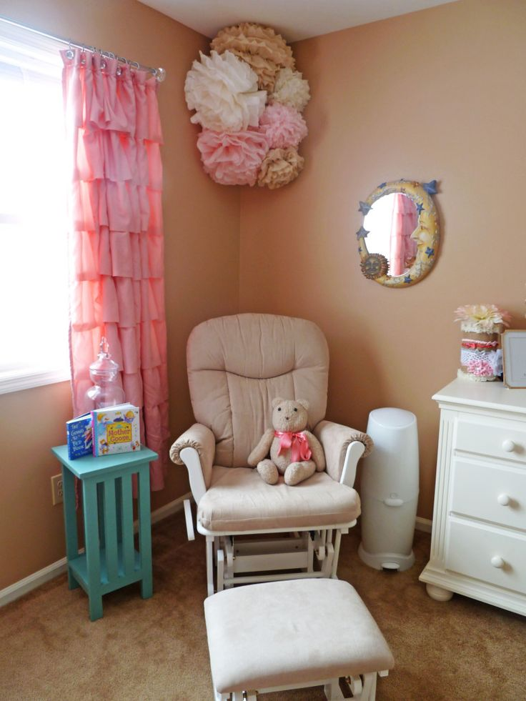 Project Nursery - Shermag Glider Rocker and Ottoman